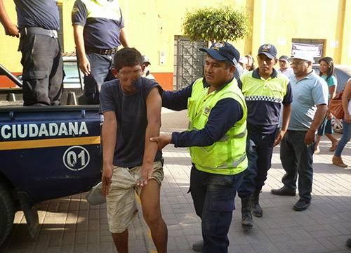 captura delincuentes borrachos