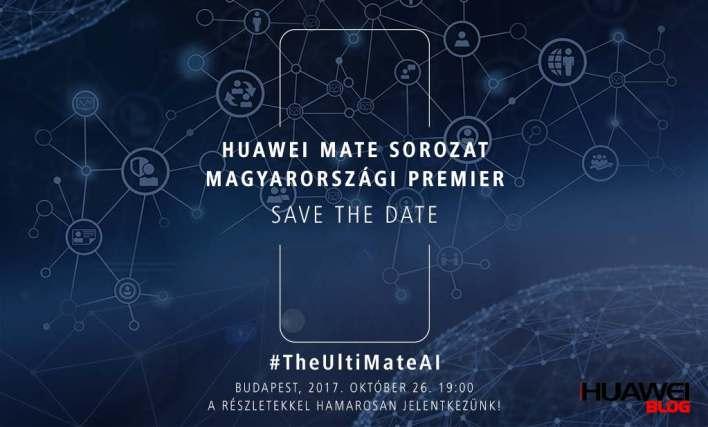 Huawei Mate sorozat magyarországi premier