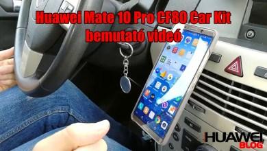 Huawei Mate 10 Pro Car Kit autós tartó és tok bemutató