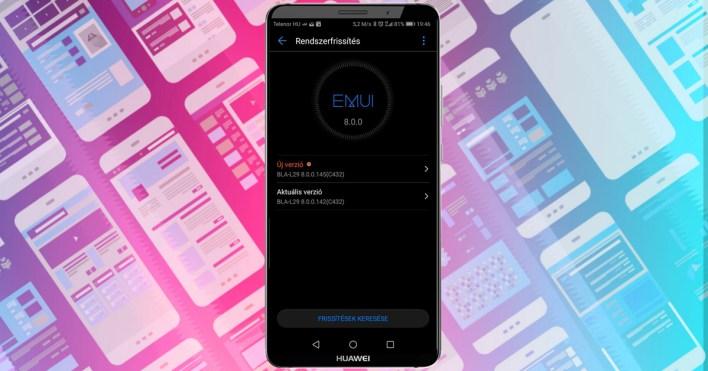 Megjött a Huawei Mate 10 Pro eddigi legjobb frissítése