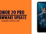Huawei Honor 20 pro Firmware Flash file