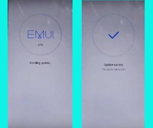 Flash Huawei Firmware via dload mode