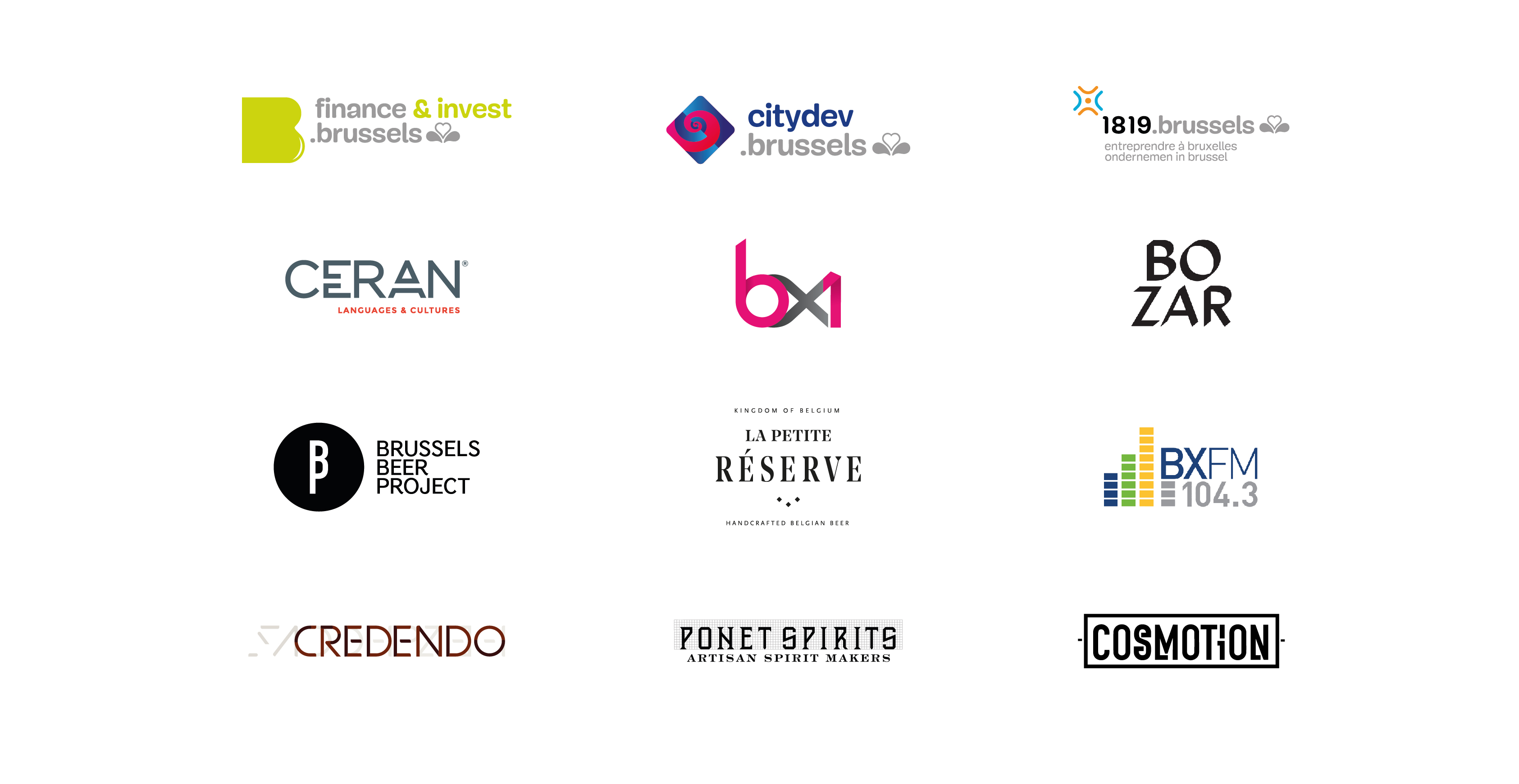 Many thanks to our sponsors