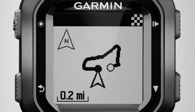 Garmin bike computer