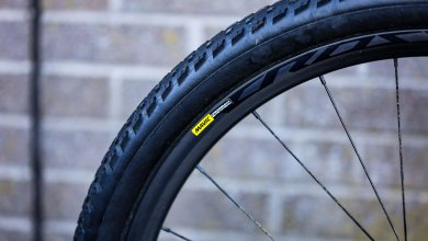 A Mavic tubeless wheelset