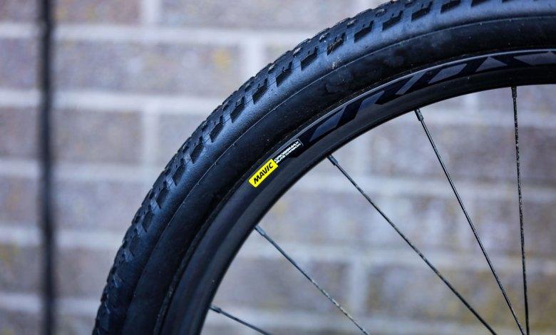 A Mavic tubeless wheelset