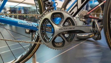 A Shimano Dura Ace groupset