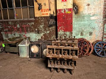 Items Salvaged from Bailey Power Plant