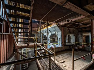 Staircases and Catwalks in Bailey Power Plant