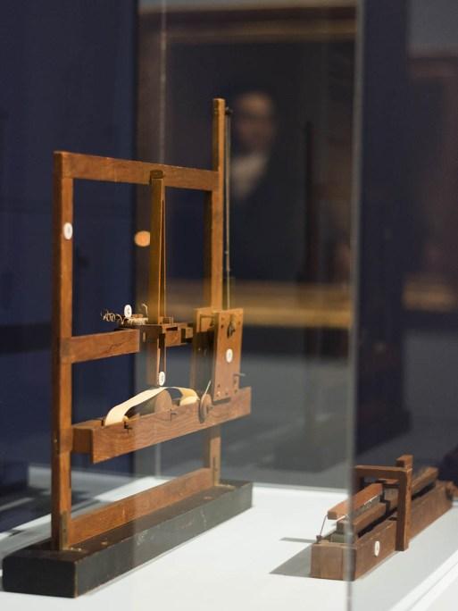 Morse's telegraph receiver