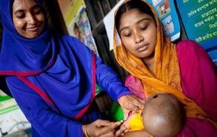 Photo courtesy of Gavi, the Vaccine Alliance