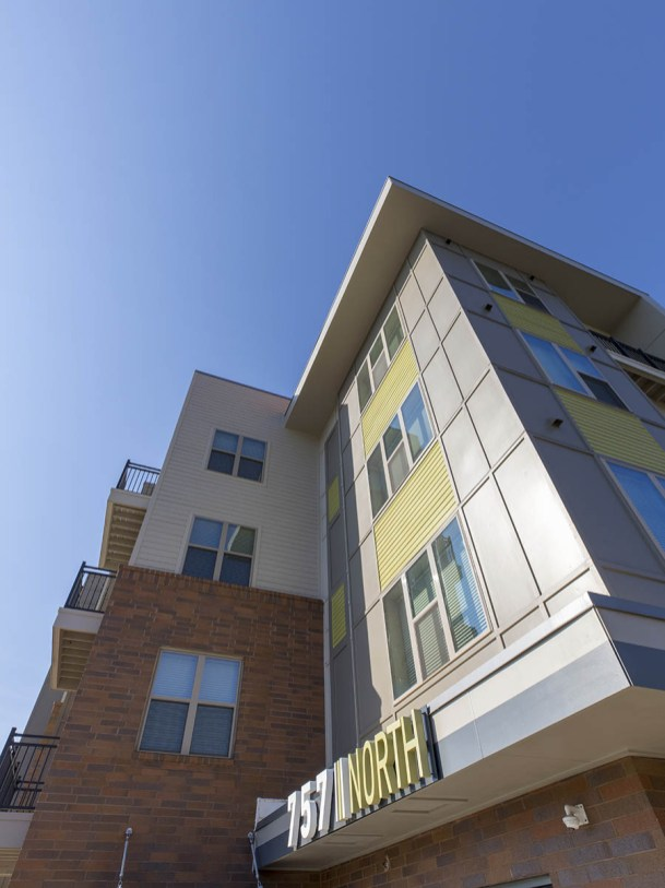 The 757 North Apartments are Goler's latest real estate project.