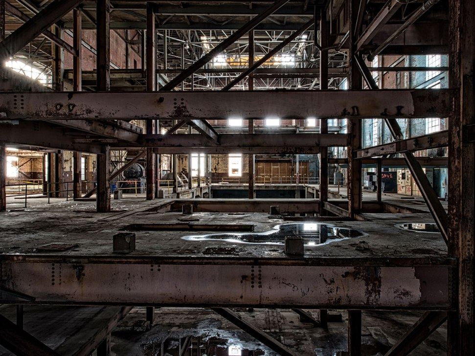 Once a maze of steel, the Innovation Suites on the second floor have transformed the original space.