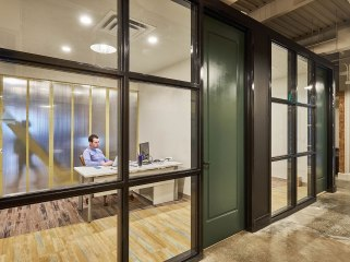 Offices equipped with basic furniture and internet is one of the amenities of the Innovation Suites.