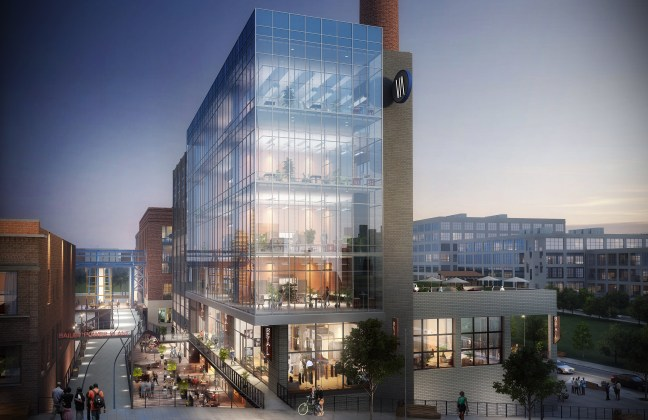 A rendering of Bailey South from the Krankies block.