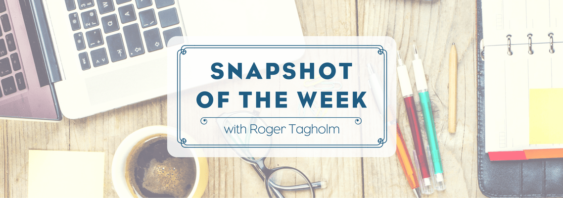 Snapshot of the Week – 9 December 2016