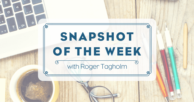 Snapshot of the Week – 25 November 2016