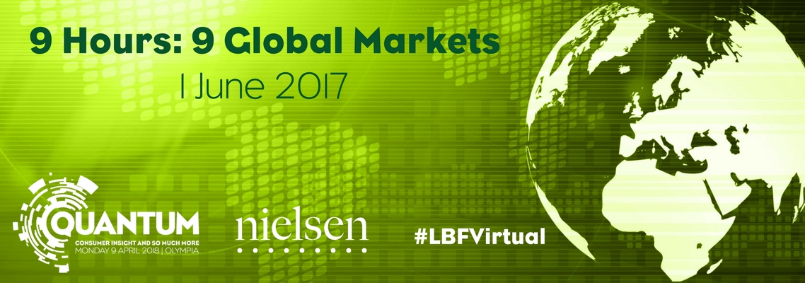 9 hours │ 9 global publishing markets │1st June 2017