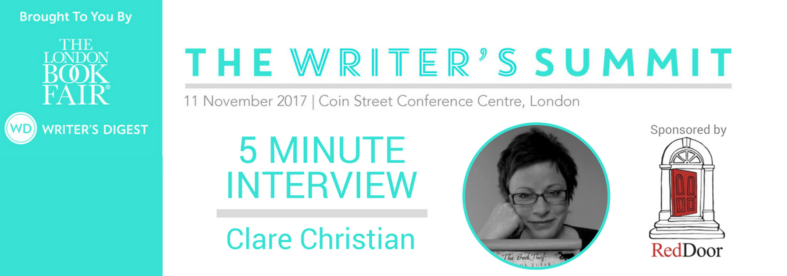 5 Minute Interview with Clare Christian