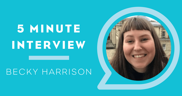 5 Minute Interview with Becky Harrison
