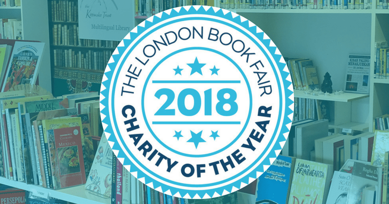 The London Book Fair Nominates The Kittiwake Trust as Charity of the Year 2018