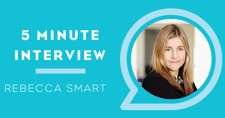 5 Minutes with Rebecca Smart