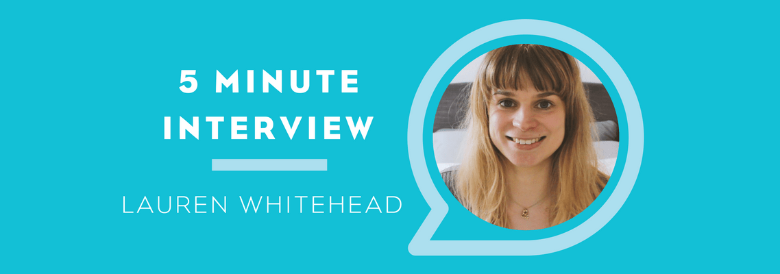 5 Minutes with Lauren Whitehead