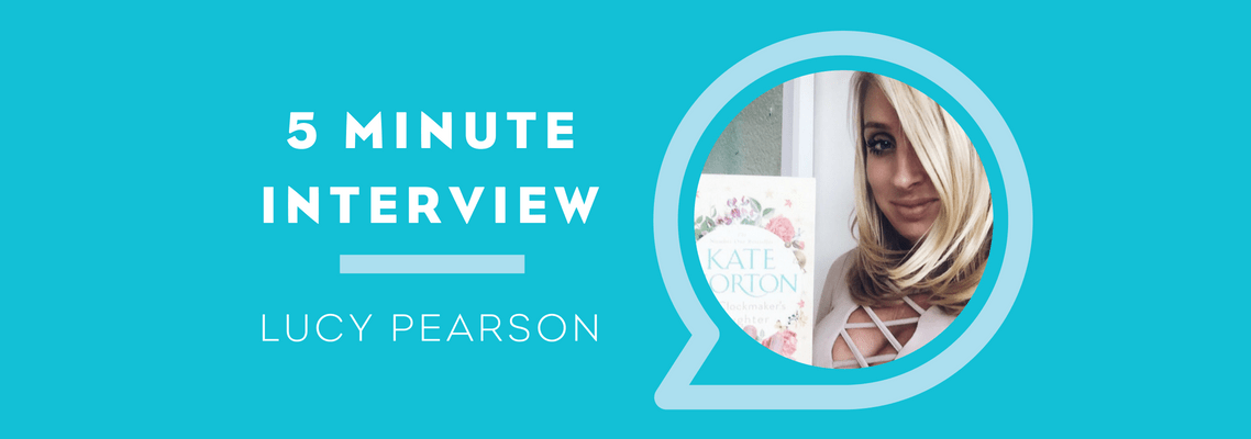 5 Minutes with Lucy Pearson