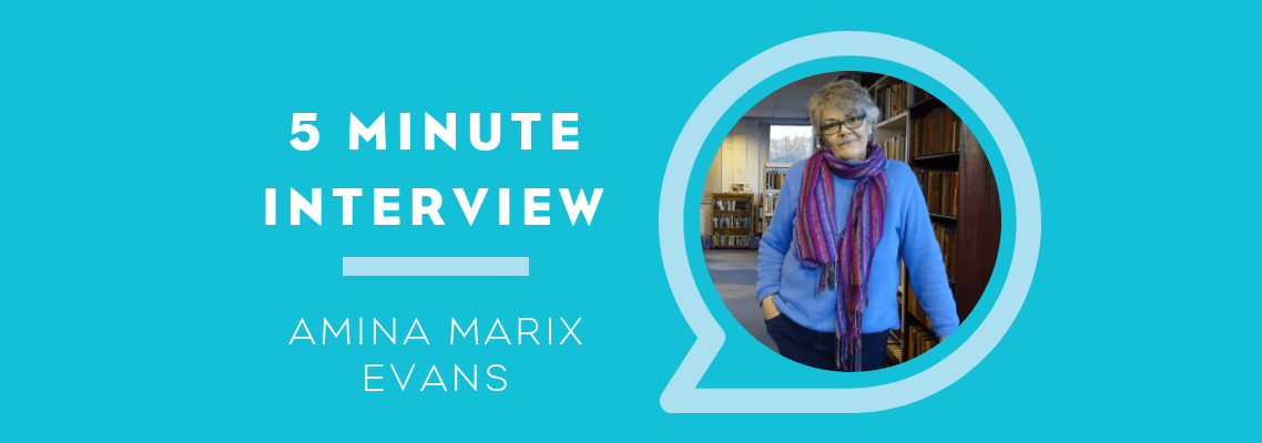 5 Minute Interview with Amina Marix Evans