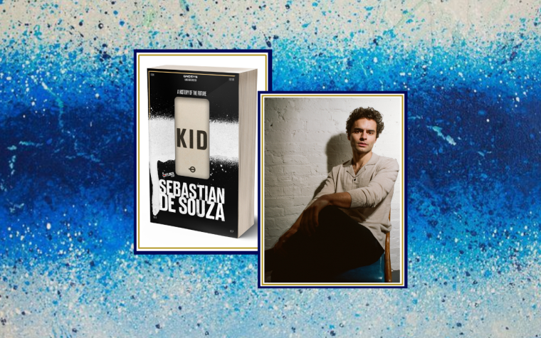 Kid: A History of the Future by Sebastian de Souza - Feat. Image - 5 Minute Interview
