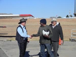 Rolland Trempert arrives in Lesotho