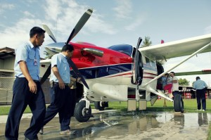 New Kodiak arrives on MAF Sentani base in Papua, Indonesia
