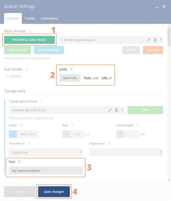 add-shortcode-settings