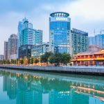 Lanson Place signs serviced residences in Chengdu, China