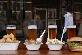 Jack Black Beer and Street Food Pairing
