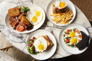 Spend This Weekend at Harrys and Relish Brand New Brunch Items