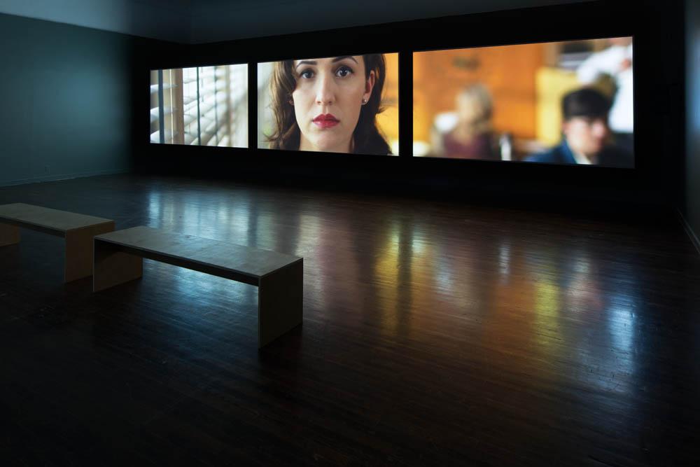 Giant 2014, Installation view. Sound Speed Marker, Ballroom Marfa, 2014. Photo: Frederik Nilsen