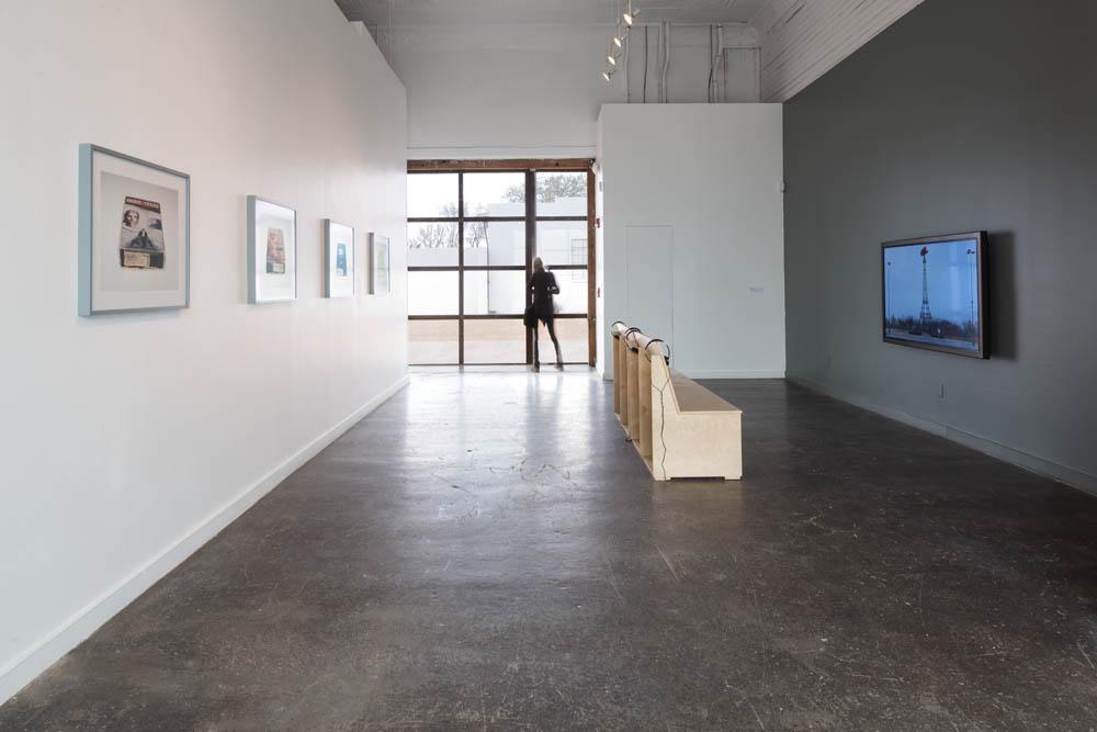 Sound Speed Marker, Installation view, Ballroom Marfa, 2014. Photo: Frederik Nilsen