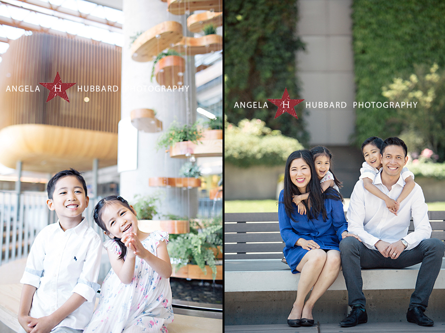 Vancouver family portrait photographer Angela Hubbard photography