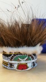 Casssowary feathers, boar bones