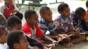 Boys at Tomawin dorm (asrama)