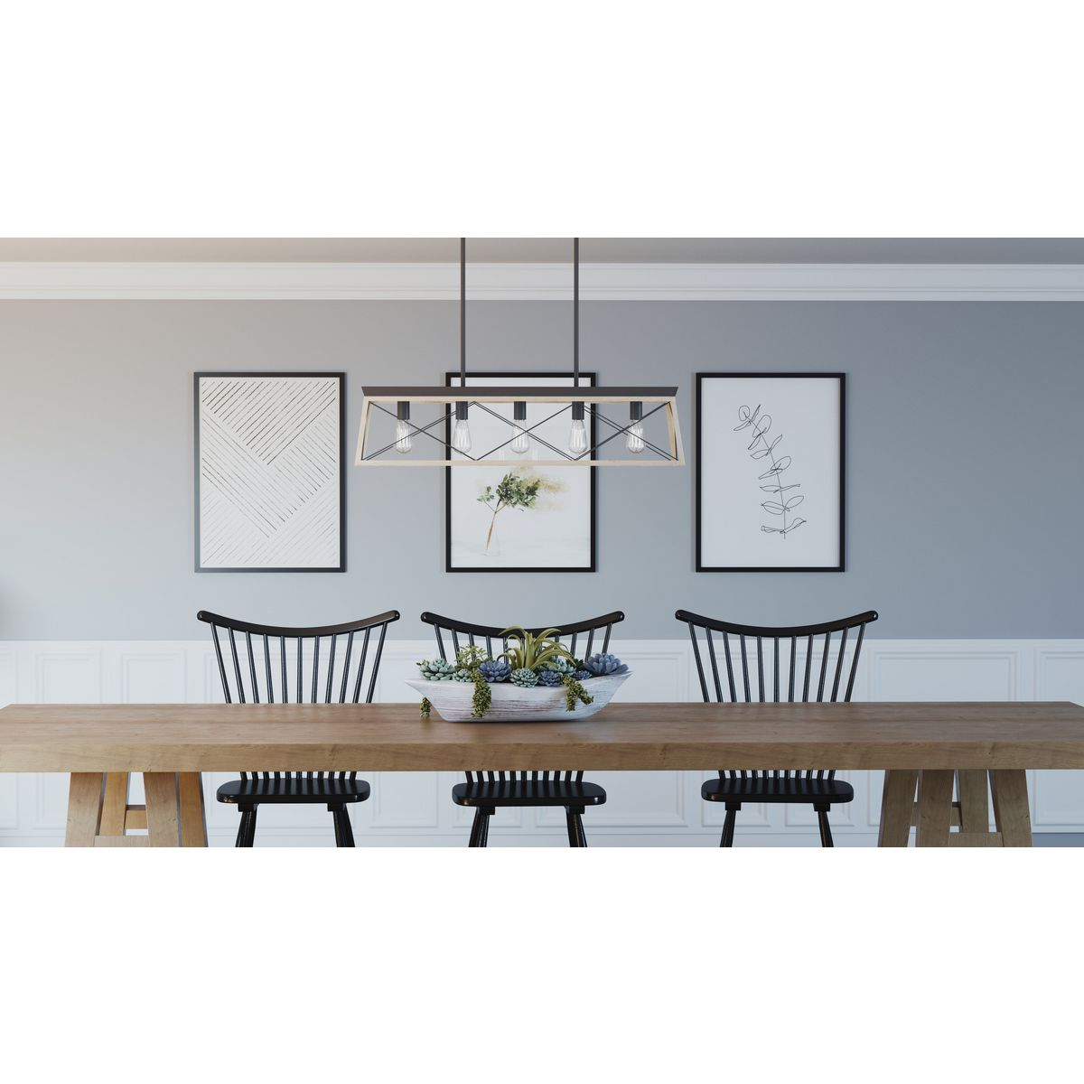 briarwood collection five light linear