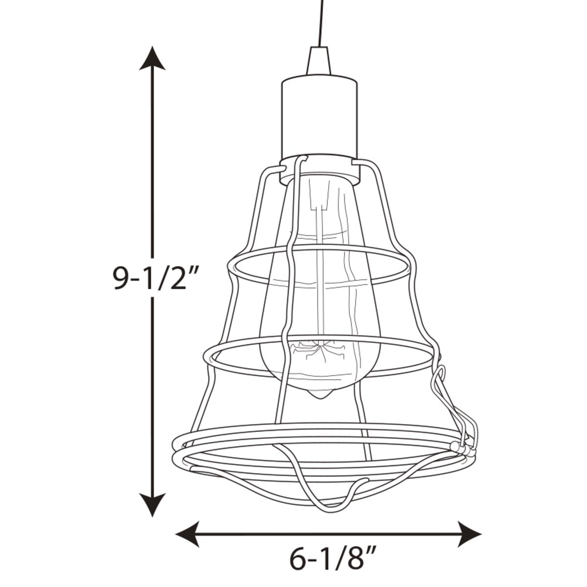 Gauge Collection One Light Mini Pendant