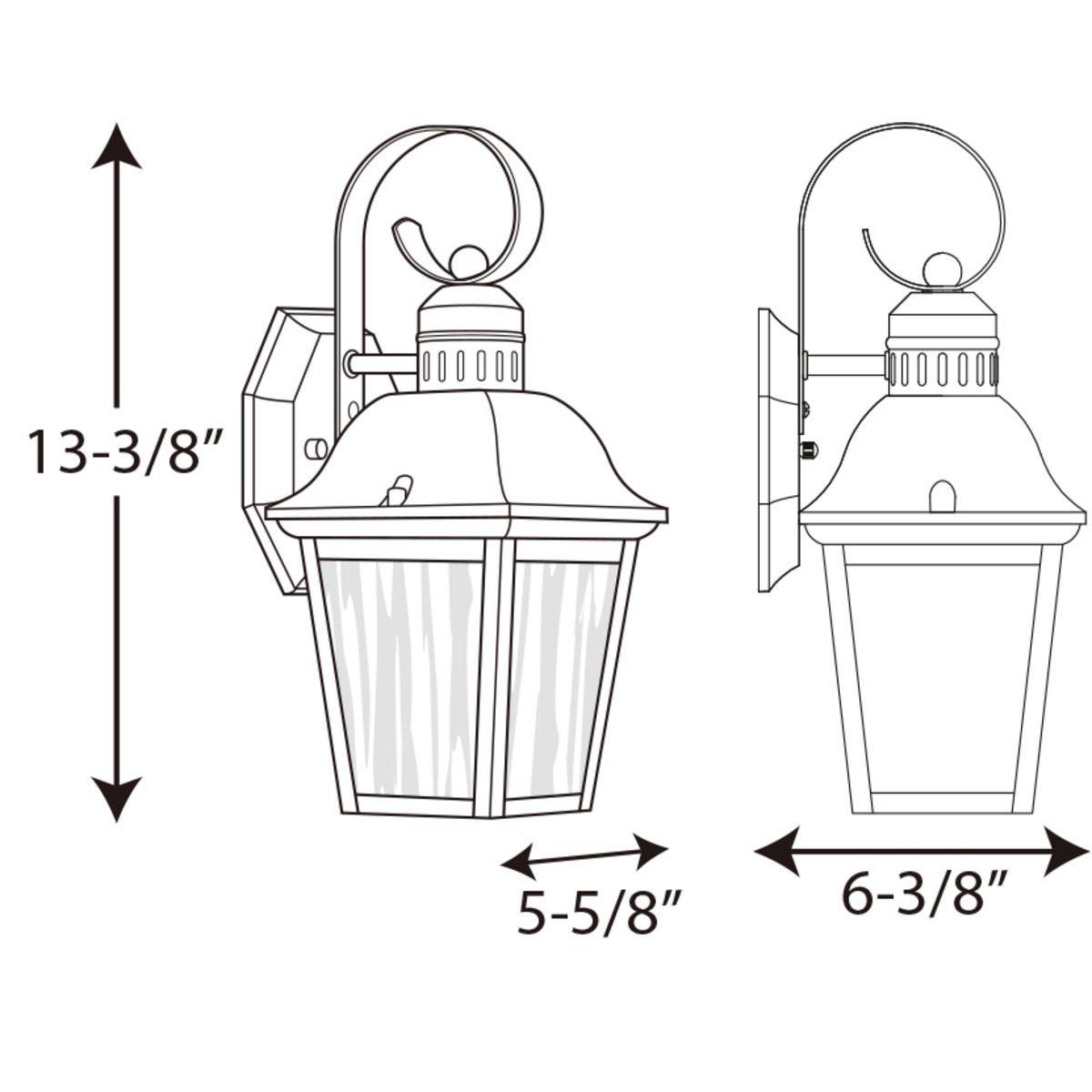 light small wall lantern