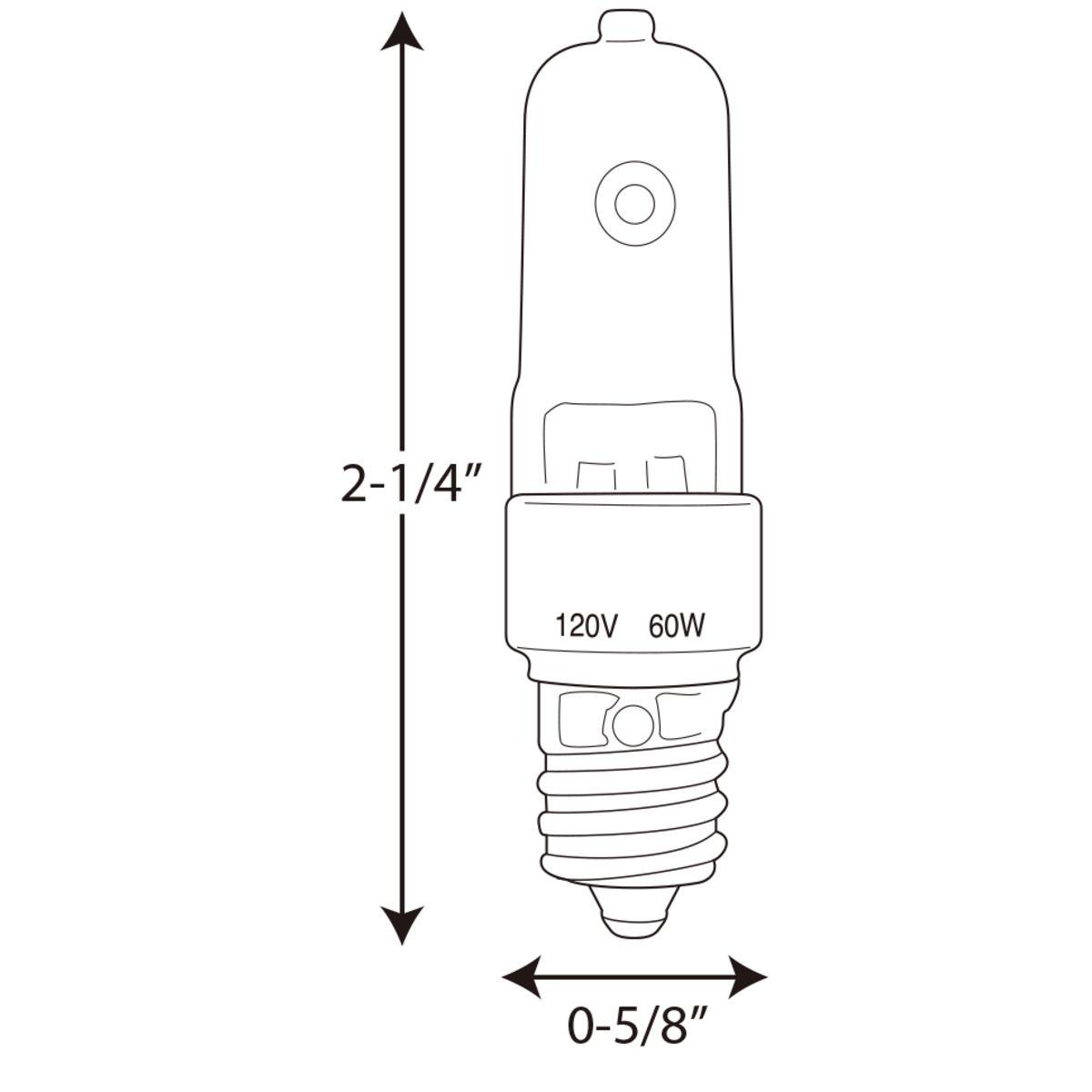 60 Watt E12 Krypton Xenon Lamp