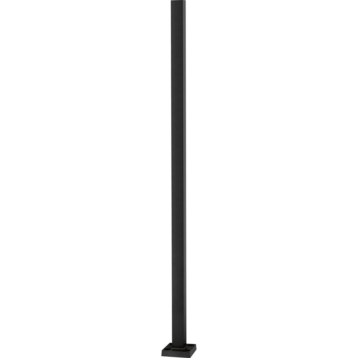 Square Straight Steel Pole