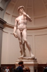 David at the Academie, Florence.