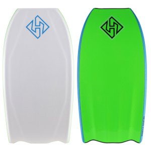 Hubb Edition Quad Core Sci-Five - Hubb Tail With white Deck and lime slick