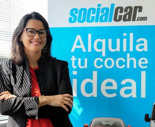 Mar Alarcón CEO of Social Car