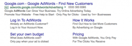 adwords examples